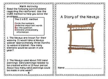 Navajo Sticker Book Bonus Reading to Learn Booklet