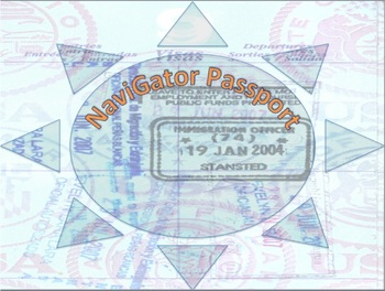NaviGator Customizable Passport Template