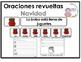 Christmas Scrambled Sentences in Spanish:  Oraciones Mezcl
