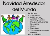 Navidad Alrededor del Mundo Christmas Around the World Spanish