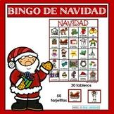 Navidad: Christmas Bingo in Spanish
