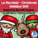 Navidad Christmas Posadas Beginning Spanish Unit with informational text