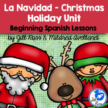 Navidad Christmas Posadas Beginning Spanish Unit with informational text