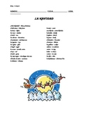 """""""Navidad"""" (Christmas) Vocabulary Handout"""