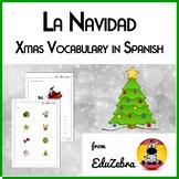 Christmas Vocabulary in Spanish - Navidad - Activity Pack