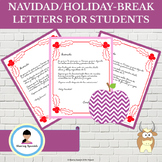 Navidad/Christmas or Holiday-Break Letters for Students