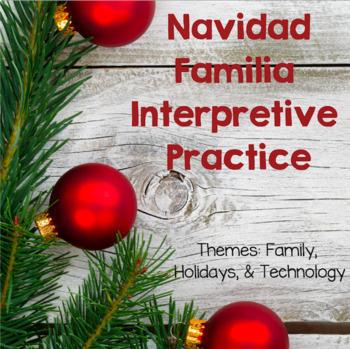 Navidad Familia Interpretive Activity