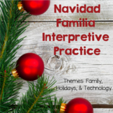 Navidad Familia Interpretive Activity