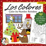 Navidad - Los Colores Spanish Christmas Colors Color by Nu