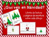 Navidad! Spanish Christmas Book and Writing Activities