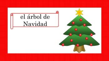Navidad: Spanish Christmas PowerPoint Presentation (1st to 5th)