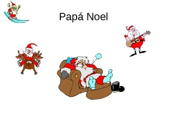 Teaching Resources. Navidad Spanish Christmas Vocabulary PowerPoint.