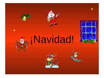 Teaching Resources. Navidad Spanish Christmas Vocabulary P