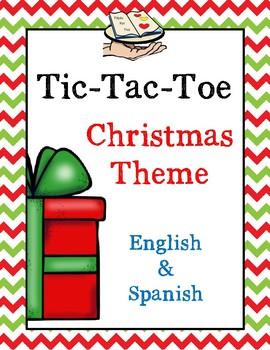 Navidad Tic Tac Toe Christmas