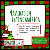 Navidad. Vocabulario y lectura Español 1 y 2 - Christmas Spanish 1 & 2