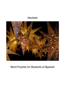 Navidad: Word Puzzles for Students of Spanish