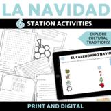 Navidad and Día de los Reyes Magos Activity Bundle with DI