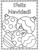 Navidad Christmas Spanish coloring pages