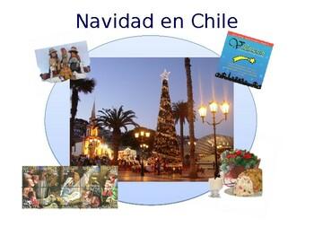 Navidad en Chile: Christmas in Chile powerpoint