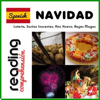 Navidad en España - Christmas in Spain - Reading Activities Pack