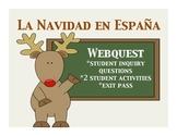 Navidad en Espana Webquest
