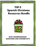 Navidad: Spanish Christmas Bundle @25% off! (3 Readings + 2 Worksheets) (SUB)