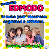 Navigating Edmodo to Make Your Digital Classroom More Organized and Efficient