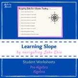 Navigating Lake Erie - Slope Packet of Student Worksheets