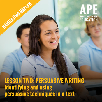 Navigating NAPLAN | Persuasive Techniques in Texts | Lesson Two Plan