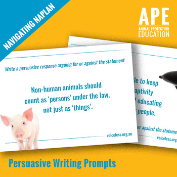 Navigating NAPLAN   Write Here, Write Now!   Lesson 5 Persuasive Writing Prompts