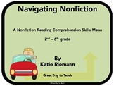 Nonfiction Text Questions and Recording Pages