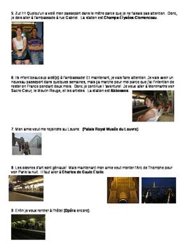 Navigating Paris by metro