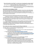 Navigating the Academic Article: A Handout for High School