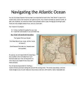 Navigating the Atlantic: A Geography Mapping Game