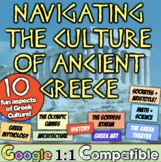 Ancient Greece Culture: Students explore 10 areas of Ancient Greek Culture!