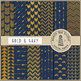 Navy And Gold Digital Paper, Gold Patterns, Navy Backgrounds