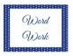 "Navy Blue Polka Dot ""Daily 5""  FREEBIE"