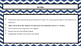 Navy Chevron Classroom Expectations Powerpoint-Editable