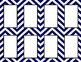 Navy Chevron Classroom Labels and Tags