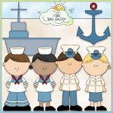 Navy Clip Art - Military Clip Art - Coast Guard Clip Art - CU Clip Art & B&W