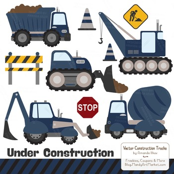 Navy Construction Clipart & Vectors