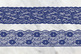 Navy Lace Borders Clipart
