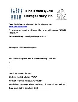 Navy Pier Web Quest