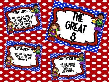 Navy Superhero Great Expectations