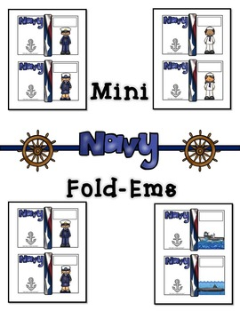 Navy United States Navy Mini Fold-Ems