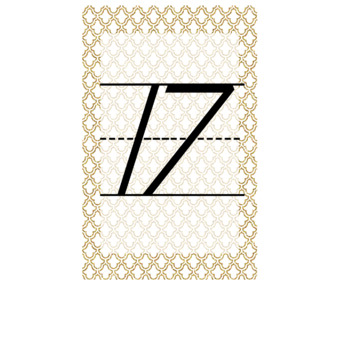 Navy and Gold Numbers ~ FREEBIE ~
