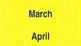 Navy and Yellow Calendar Set