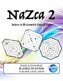 Nazca Game - Book 2 - gifted geometry critical thinking problem solving activity