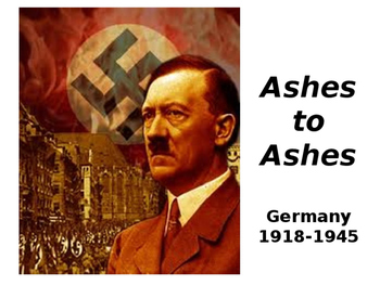 Nazi Germany - 12 PowerPoints and Study Notes