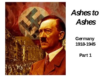 """Nazi Germany - """"Ashes to Ashes"""" - Bundled Package - Part 1"""